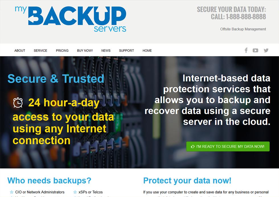 myBackup Servers